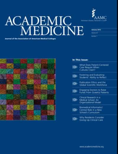 Academic Medicine Magazine Subscription Canada