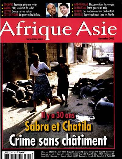Afrique Asie Magazine Subscription Canada