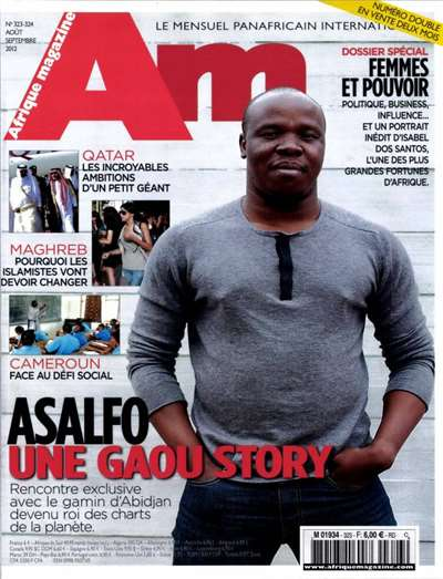 Afrique Magazine Subscription Canada