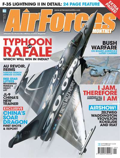 Airforces Monthly Magazine Subscription Canada