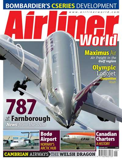 Airliner World Magazine Subscription Canada
