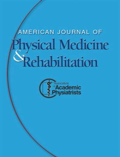American Journal Of Physical Medicine & Rehabilitation Magazine Subscription