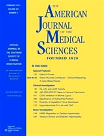 American Journal Of The Medical Sciences Magazine Subscription Canada
