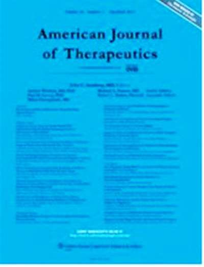 American Journal Of Therapeutics Magazine Subscription Canada