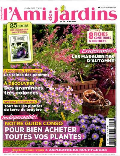 Ami Jardin Maison Magazine Subscription