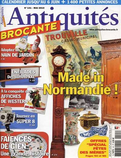 Antiquites Brocante Magazine Subscription Canada