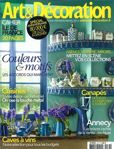 Art Et Decoration Magazine Subscription Canada