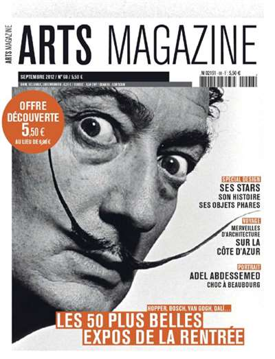 Arts Magazine Subscription Canada