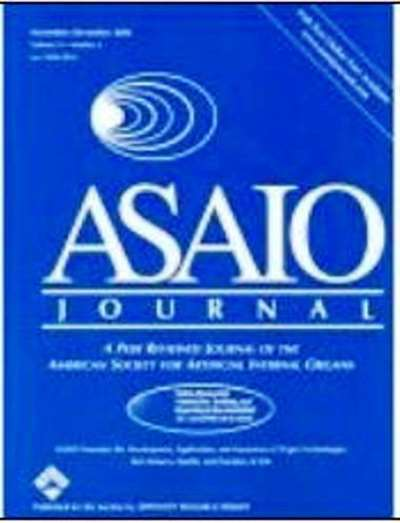 Asaio Journal Magazine Subscription