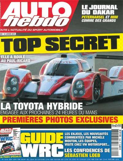 Auto Hebdo Magazine Subscription