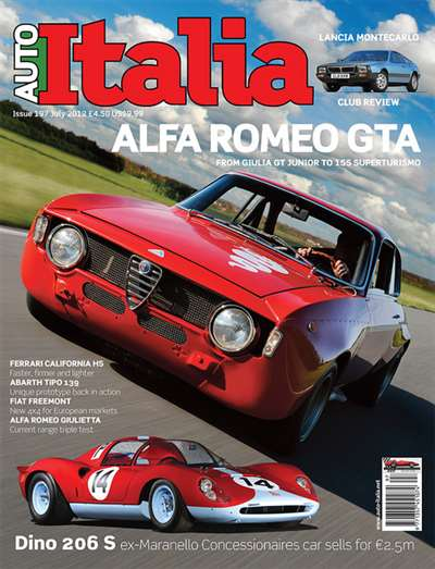 Auto Italia Magazine Subscription Canada