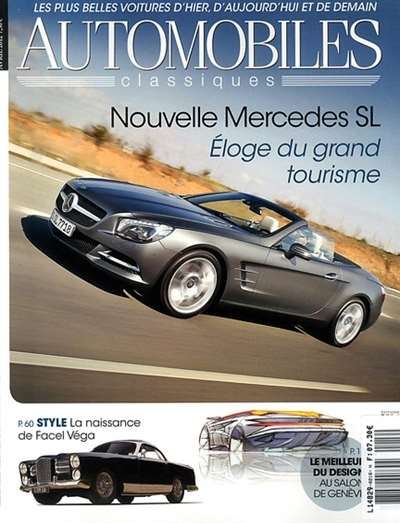 Automobile Classique Magazine Subscription Canada