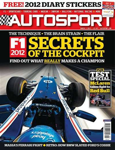 Autosport (UK) Magazine Subscription Canada