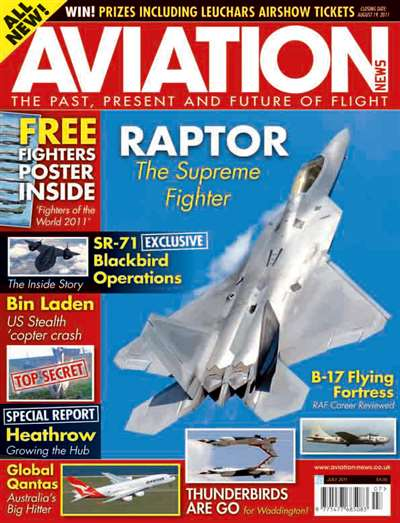 Aviation News Magazine Subscription