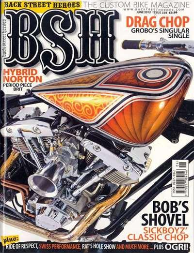 Back Street Heroes Magazine Subscription United States
