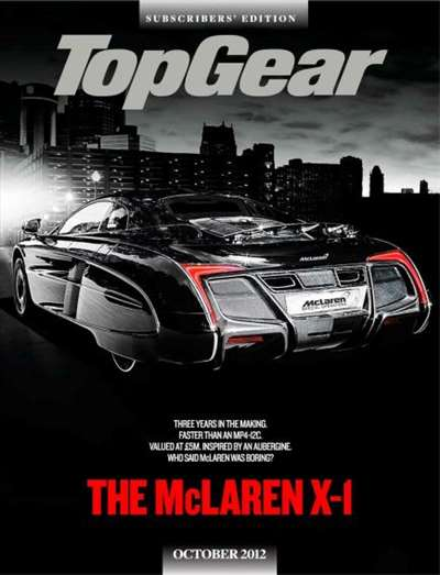 BBC Top Gear Magazine Subscription Canada