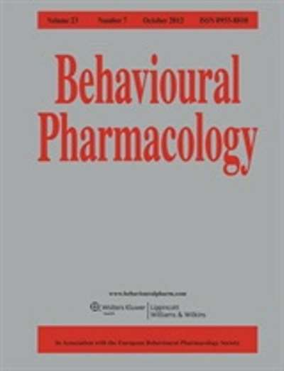 Behavioral Pharmacology Magazine Subscription
