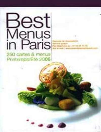 Best Menus In Paris Magazine Subscription