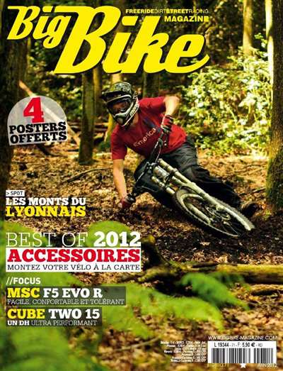 Big Bike Mountain Magazine Subscription Canada