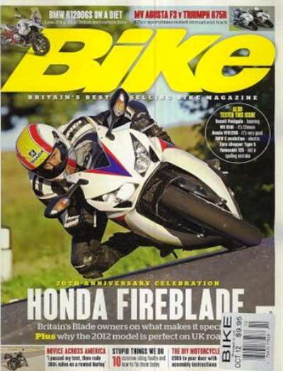 Bike (UK) Magazine Subscription Canada