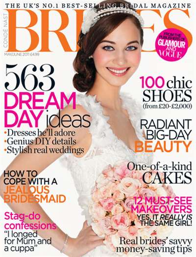 Brides (UK) Magazine Subscription Canada