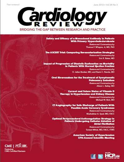 Cardiology In Review Magazine Subscription Canada