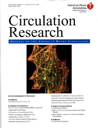 Circulation Research Magazine Subscription