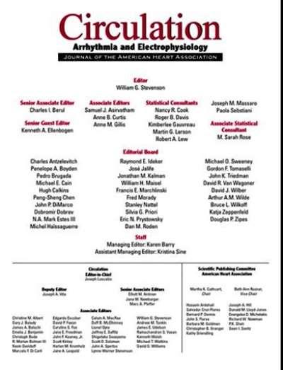 Circulation: Arhythrmia & Electrophysiology Magazine Subscription