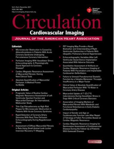 Circulation: Cardiovascular Imaging Magazine Subscription