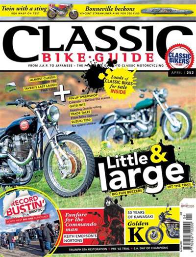 Classic Bike Guide Magazine Subscription