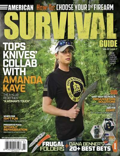 American Survival Guide Magazine Subscription Canada