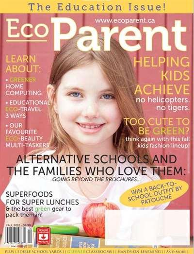 Ecoparent Magazine Subscription Canada