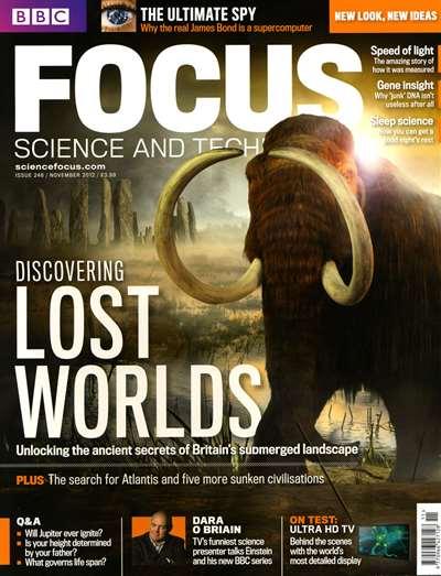 BBC Focus Magazine Subscription Canada