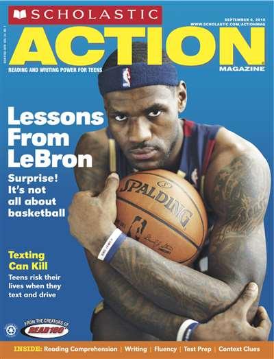 Scholastic Action Magazine Subscription