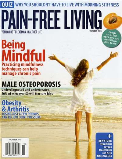 Pain Free Living Magazine Subscription Canada