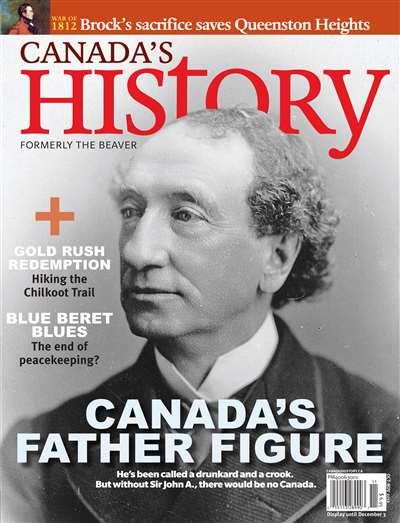 Canada's History Magazine Subscription Canada