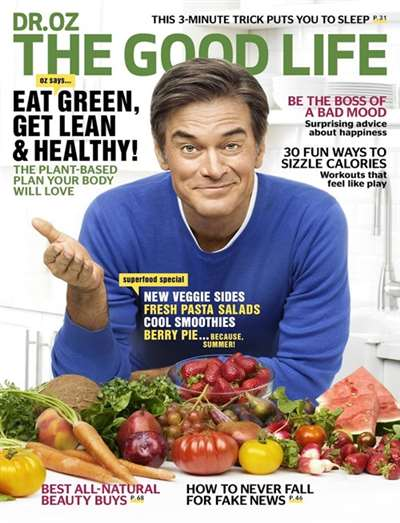 Dr Oz 'The Good Life' Magazine Subscription Canada