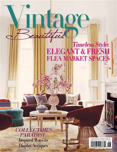 Vintage Beautiful Magazine Subscription