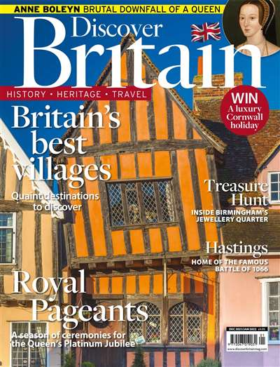 Discover Britain Magazine Subscription Canada