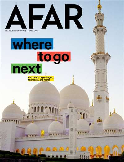 Afar Magazine Subscription Canada