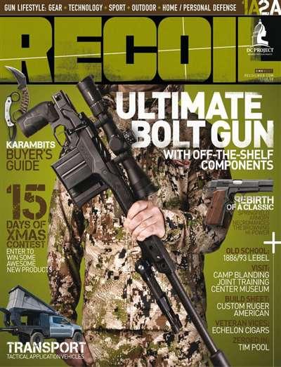Recoil Magazine Subscription Canada