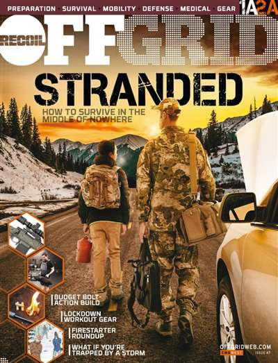 Recoil Offgrid Magazine Subscription Canada
