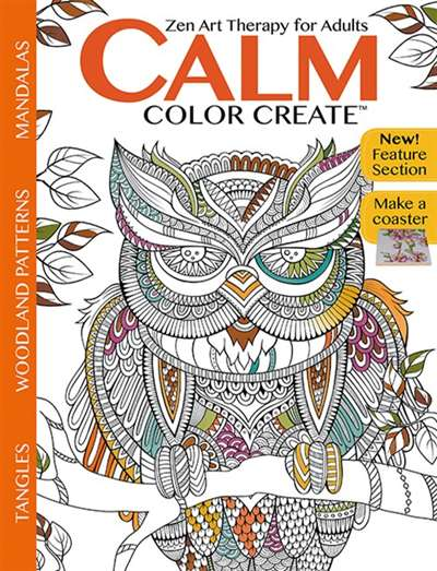 Calm Color Create Magazine Subscription Canada