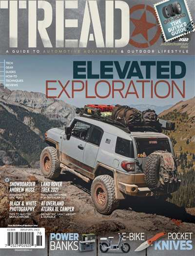 Tread Magazine Subscription Canada