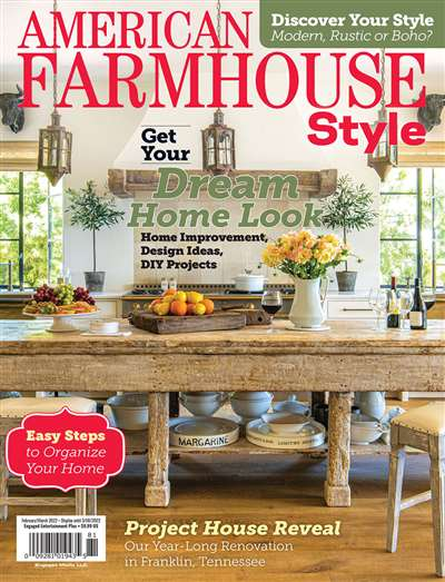 American Farmhouse Style Magazine Subscription Canada