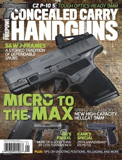 Concealed Carry Handguns Magazine Subscription Canada
