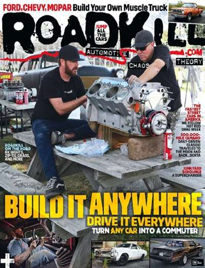 Roadkill Magazine Subscription