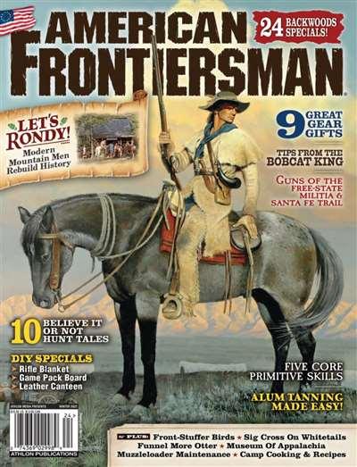 American Frontiersman Magazine Subscription Canada
