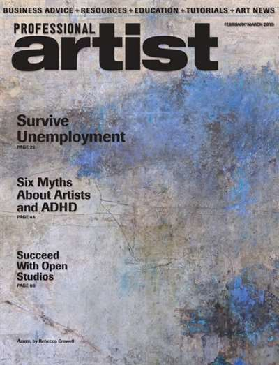 Professional Artist Magazine Subscription