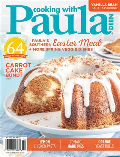 Cooking With Paula Deen Magazine Subscription